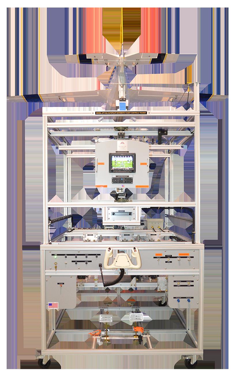 Otomatik Pilot / Otomatik Uçuş Kontrolleri Eğitim Seti Model APT-04