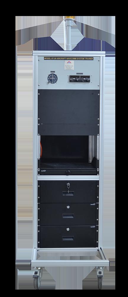 Equipo para capacitación en navegación/comunicación de aeronave modelo AT-20