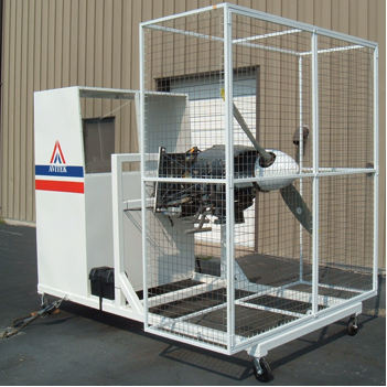 AE-30 Runnable Aircraft Piston Engine Trainer