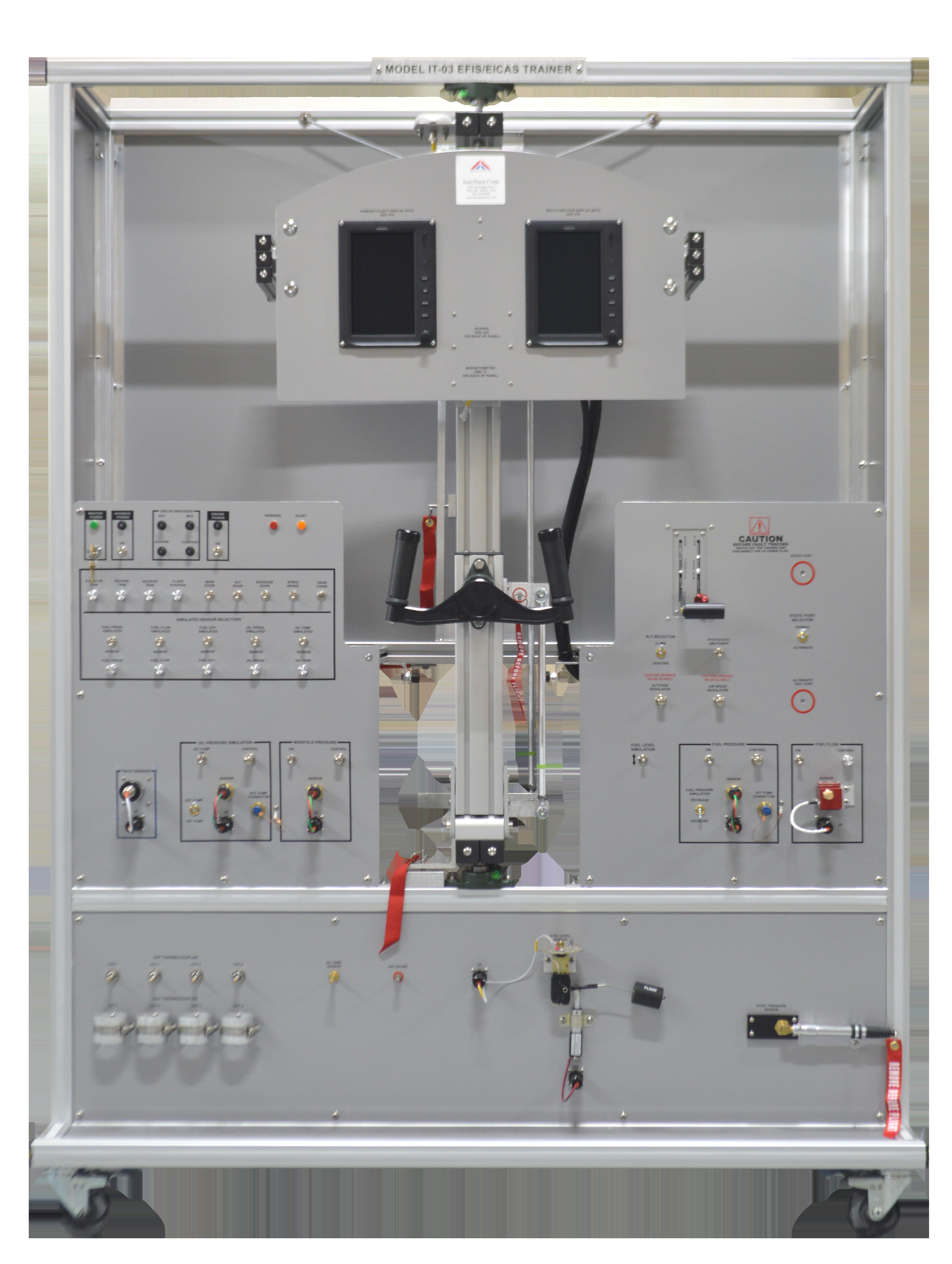 IT-03 EFIS/EICAS Trainer Model