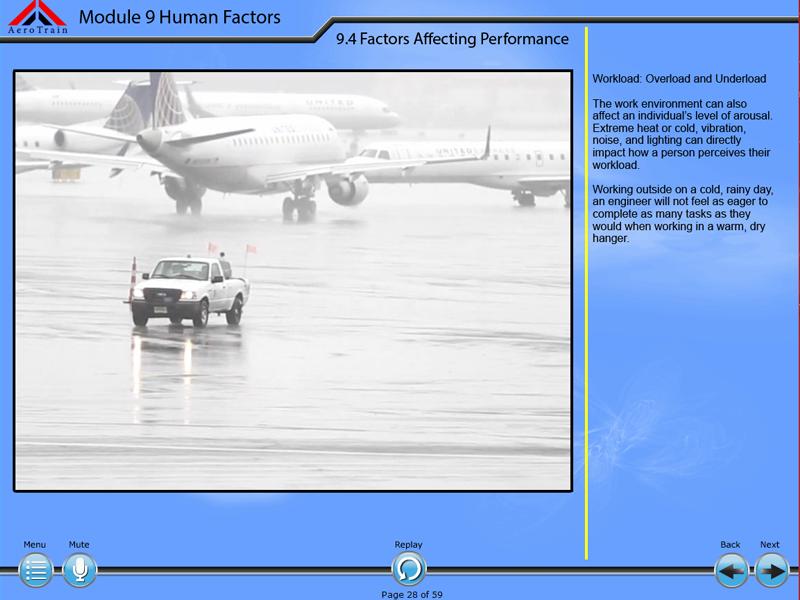EASA 66, módulo 9: Factores humanos