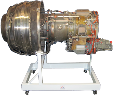 AE-05-700 Teardown Low-Bypass Turbine Engine