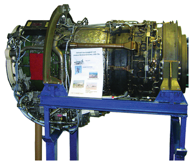 AE-05-J85 Teardown Turbojet Engine